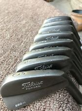TITLEIST 690.MB 3-PW BLUEPRINTED  BLACK NITRIDE SPINE ALIGNED S300 STIFF