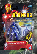 NIB Iron Man 2 Stealth Operations With 3 Armor Cards Action Figures B8