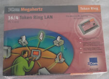 3Com Megahertz Vintage 16/4 Token Ring Lan PCMCIA Card 3C389 STP and UTP (RJ45)
