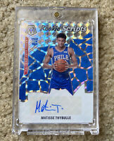 2019-20 Mosaic Matisse Thybulle SILVER Rookie Scripts AUTO RC - 76ers