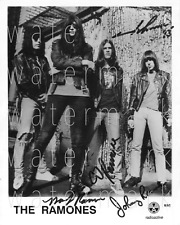 The Ramones signed 8X10 inch photo picture poster autograph RP
