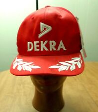 FERRARI baseball hat NWT sports car Dekra embroidery cap snapback Italy