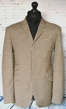 Mod Skinhead Suit Brown & white Check Suit 3 Button Slim Fitting Suit 1960's