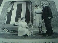 ephemera 1955 kalamazoo lincoln sub office mr mrs lihou maureen peter and rusty