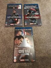 3 MARVEL STUDIOS BLU RAY BRAND NEW SEALED WITH LIMITED EDITION O RING SLEEVES