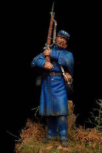 Fante 28° Massachussets 1862 - Figurino Dipinto a Mano  Scala 54mm