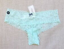 GILLY HICKS by Abercrombie Hollister PANTIES Cheeky Lase Mint M/L  NWT