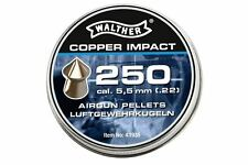 Air rifle Airgun pellets WALTHER COPPER IMPACT 5.5 mm cal. .22 250 pcs. 1.04 g