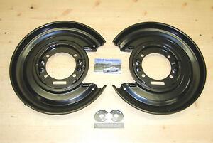 2 x Ankerblech hinten *NEU* für Opel Omega B Paar Ankerplatten Bremsbleche Satz