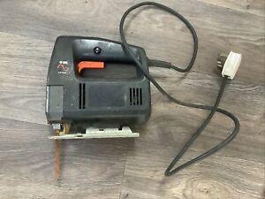 Vintage Black & Decker Electronic 240v Jigsaw