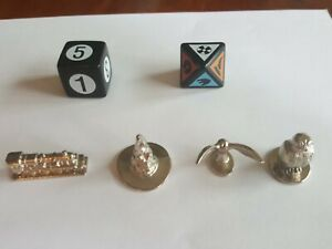 Harry Potter Scene It? Original  Replacement Parts TOKENS AND DICE ONLY 2005