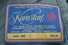 KARASTAN HERIZ Old Label Tag 726 5.9X9 (LABEL ONLY)