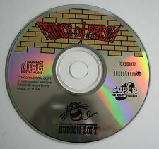 Prince of Persia (TurboGrafx-16) CD *CD ONLY* Fast Shipping
