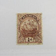 Bermuda Scott #81 sailing ship Θ used, very fine + 102 card, superfleas