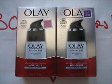 2 Pack Olay Regenerist Advanced Anti-Aging Moisturize Fragrance Free 1.7 OZ Each