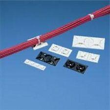 Panduit: ABM4H-A-L, ABM4H-A-T White Cable Tie Mount (100ea/bag)