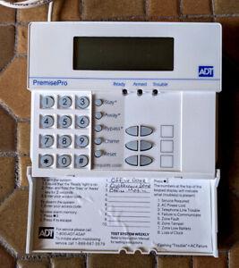 ADT PremisePro LCD5501Z keypad ADTSB alarm security system