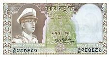 03 Nepal P18 10 Rupees 1972 Sig. 8 UNC