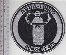 SCUBA Diving USA US Divers Aqua-Lung Conshelf SEA Regulator Patch Los Angeles CA