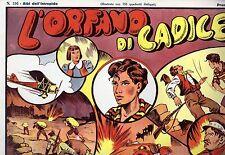 Ristampa Amatoriale ALBI DELL'INTREPIDO numero 116 L'ORFANO DI CADICE