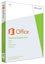 Microsoft Office Home and Student 2013 PKC 32/64bit English 79G-03550 Brand New