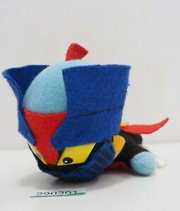 """Mazinger Z 290301 Robot Go Nagai Banpresto Plush 6"""" 1992 Toy Doll Japan"""
