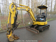 2006 Komatsu PC27MR-2 Hydraulic Mini Excavator Aux Hydraulic Thumb Blade Q/C