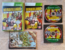 Borderlands game of the year XBOX 360 + dvd extensions + carte