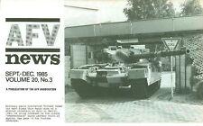 AFV NEWS V20 N3 WW2 HUNGARIAN ARMOR_IRISH ARMOR_S.PZ.ABT.503_Su-152_BAOR URBAN C