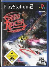 PlayStation 2 `Speed Racer: The Videogame` Neu/New/OVP PS2