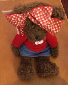 "Hallmark First Snow Lisa Kay Bear Plush 17"""