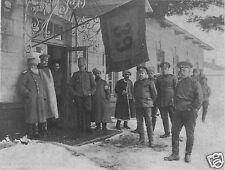 "Russian Army General De Vitt & Staff 39th Infantry World War 1 5.5x4"", Photo 1"