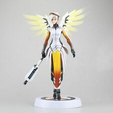 Overwatch Mercy Angela Ziegler 30cm Action Figure Statues Toys NEW WITH BOX
