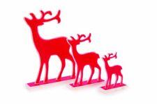 Small foot Company 6583 dekofiguren decorativas-Elche rojo, 3er set