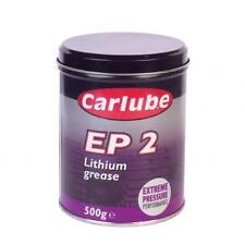 Carlube EP2 Lithium Grease High Melting Point 500g Tin. New.