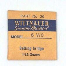 New Old Stock Wittnauer 6W8 Set Lever Spring Bridge Watch Part #26