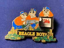 Beagle Boys 50th Anniversary Hinged 3D Disney Pin Le 3500 #7728