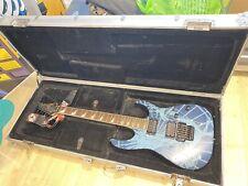 More details for ibanez rg series electric guitar pegasus design in hard case