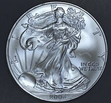 2006 1 oz AMERICAN SILVER EAGLE BRILLIANT UNCIRCULATED ASE  SKU2006B