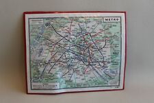 Ancien plan de Paris - Metro - L'indispensable - dans son étui plastic