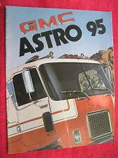 1975 GMC ASTRO 95 SEMI TRUCK BROCHURE