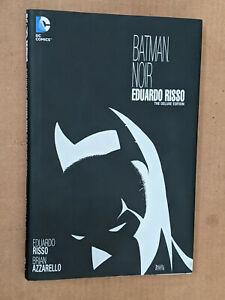 Batman Noir  Eduardo Risso deluxe Edition Hardcover Unread Azzarello