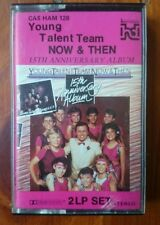 Young Talent Team NOW & THEN 15TH Anniversary Album CASSETTE TAPE 1985  2 LP set