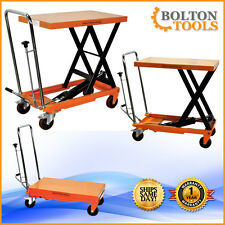 Bolton Tools Hydraulic Scissor Lift Table Cart 660 lbs TF30