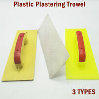 Plastic Float/Trowel Plastering Finishing Trowels DIY Plaster 290mm