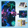 Galaxy Space Wallet Case Cover Samsung Galaxy S3 4 5 6 7 8 Edge Note Plus 065