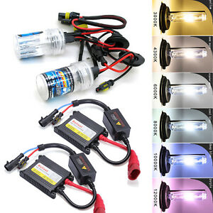 A1 XENON HID HB3 9005 HID Kit 35W DC Digital Ballast High beam Headlight Bulbs