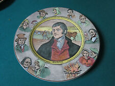 "Royal Doulton Antique Collector Plate Burns 10 1/2"" D6344"