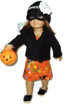7pc Trick or Treat Outfit 18 inch Doll Clothes fits American Girl dolls