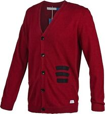 ~Adidas Originals Blue BADGES CARDIGAN HZO sweat shirt SweaterJacket superstar~M